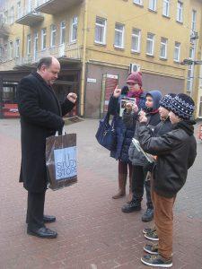 daktilės stropiai mokėsi Švietimo skyriaus vedėjas Dainius Šipelis
